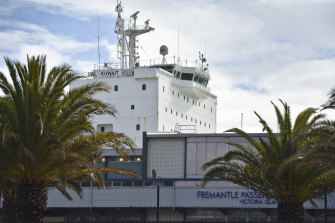 Six crew members of livestock carrier the Al Kuwait have been diagnosed with COVID-19.