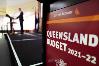 Queensland's budget was unveiled on Monday.