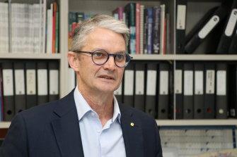 The Burnet Institute's director Professor Brendan Crabb