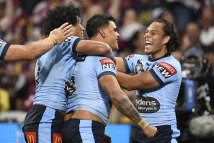 The NSW backline was electric in the game one smash-up.
