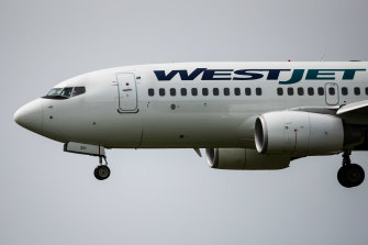 The plane returned to Toronto after a passenger falsely claimed that he had coronavirus.