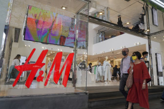 H&M shares plummeted as the pandemic hit during the first few months of Helmersson's tenure, but they have since clawed most of the falls back.