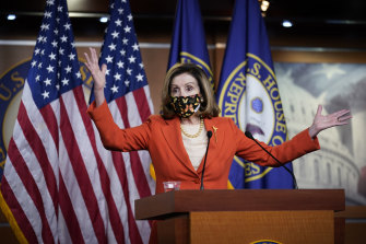 Speaker of the House Nancy Pelosi said any member of Congress who helped the rioters should be prosecuted.