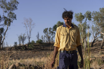 Christopher 'Burra' McHughes is team leader of one of NSW's first Indigenous fire crews.