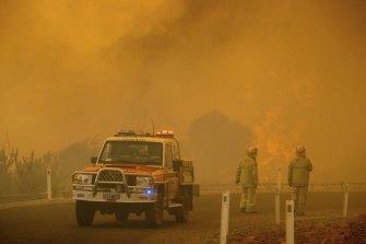 Wooroloo fire.