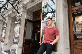 Josh Piterman has his big break on London's West End.