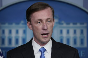 "US national security adviser Jake Sullivan says freeing Americans in Iran is a ""significant priority""."