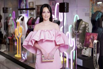 Kacey Musgraves at the opening of a new exhibit on her work at the Country Music Hall of Fame and Museum in Nashville.