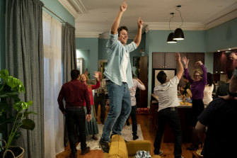 Stephen Peacocke in a scene from season one of <i>Five Bedrooms</i>.