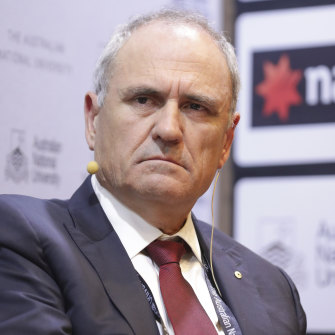 'Not your conventional businessman': Ferguson has sympathy for NAB chairman Ken Henry.
