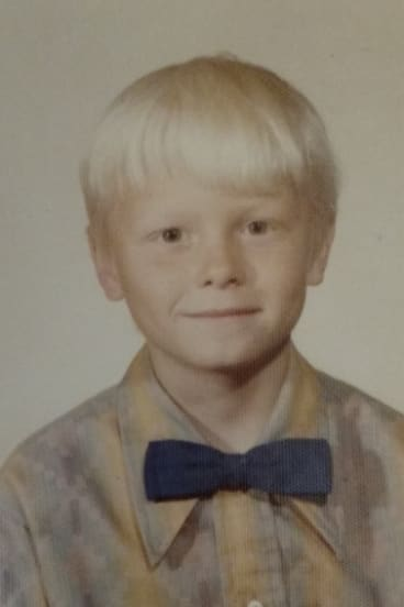 Jerry Lashuay as a child.