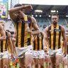 Four points: Hawks feeling gravity's pull