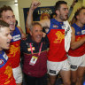 Lions stun Roos to go 2-0 as finals hopes rise