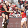 Bombers reaping benefits with focused players, says Worsfold