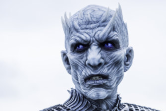 The Night King, leader of the White Walkers.