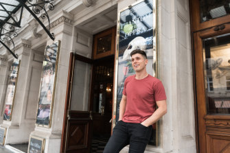 Josh Piterman has his big break on London's West End.