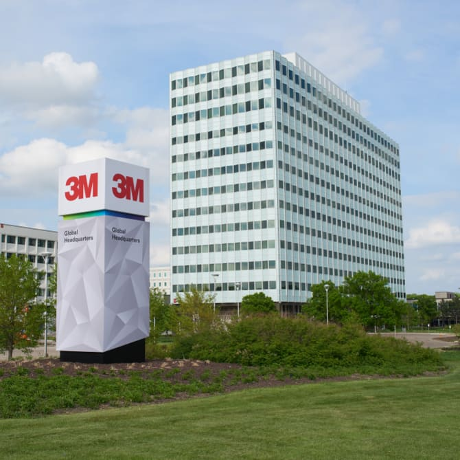 3M Corporate Headquarters in Maplewood, Minnesota.