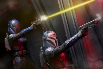 The Mandalorian is one of several exclusive series to air on Disney+