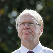 Can someone please pass Peter Beattie a glass of 'shut the hell up?'