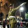 Sydney dawn service returns to normal after COVID forced absence