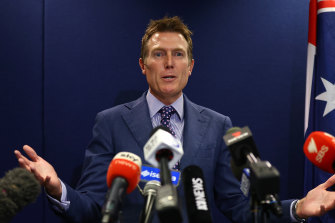 Christian Porter, Minister for Industry, Science and Technology.