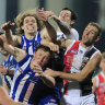 North sag after early surge but bounce back to thump St Kilda