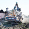 'Irrevocably wrecked': Fury as another old house razed