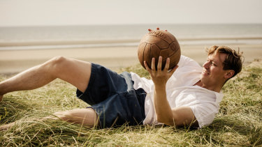 David Kross plays Bert Trautmann with almost heroic self-abnegation in The Keeper.