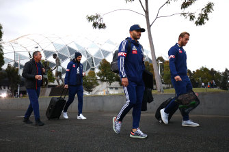 Victory players left Melbourne for NSW on Saturday.