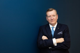 John Brogden, chairman of Lifeline.
