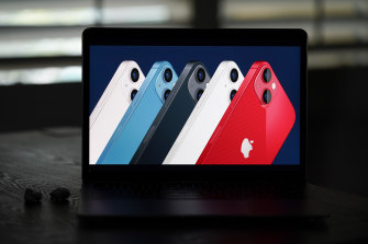 The new iPhone 13, introduced during Apple's virtual event, will come in five colours.