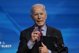 New US President Joe Biden is promising to hit the ground running.