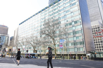 The MLC building was the largest office block in NSW when it was built in 1957.