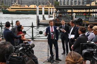 Transport Minister Andrew Constance says the next crop of Sydney ferries could be electric.