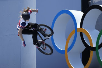 Charlotte Worthington stunned her competitors in Tokyo.