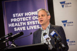 Chief Health Officer Brett Sutton says he won't be making any significant changes to Victoria's strict stage three restrictions until May 11.