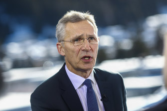 NATO's Jens Stoltenberg has warned Moscow not to use COVID-19 as cover.