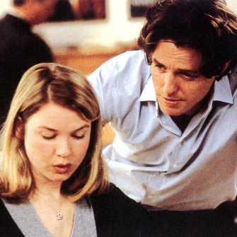 "Bridget Jones's Diary with Hugh Grant, 2001 - ""pure Zellweger goofball magic""."