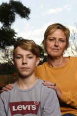 Nina Lord said constant bullying left her son Benji fearful of attending school, yet she was told on more than one occasion that he was too sensitive.