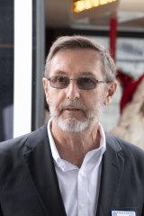 St Vincent de Paul Society territory council president Warwick Fulton.