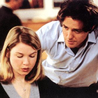 "Bridget Jones's Diary with Hugh Grant, 2001 - ""pure Zellweger goofball magic""."