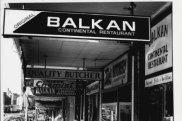 Balkan restaurants.