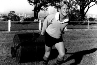 Jewel in the crown: Mosman's Rawson Oval has long boasted some of the more enviable views in Sydney rugby.