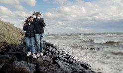 Three COVID-19 testing sites close as damaging winds lash Victoria