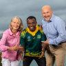 Burundi to Bledisloe: The African refugee who'll sing Australia's anthem at Bledisloe III