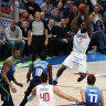 NBA wrap: Clippers put clamps on Doncic to extend streak