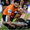 Origin curse strikes Reynolds as depleted Rabbitohs march to 10th win