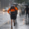 Brisbane 'in hotspot' as severe storms loom after Wednesday's record drenching