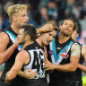 Dominant second half sees Port to victory over Suns