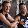 Tools down, boots on: Carlton's VFL recruits relishing seachange